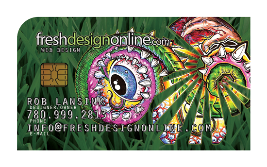 FreshDesignOnline Business Card